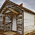 Old Rustic Rural Country Farm House by James BO  Insogna