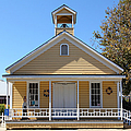 Old Sacramento California Schoolhouse 5d25544 by Wingsdomain Art and Photography