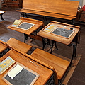 Old Sacramento California Schoolhouse Classroom 5d25778 by Wingsdomain Art and Photography