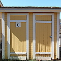 Old Sacramento California Schoolhouse Outhouse 5d25549 by Wingsdomain Art and Photography