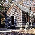 Old Schoolhouse Building by Susan Leggett