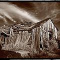 Old Shack Bodie Ghost Town by Steve Gadomski