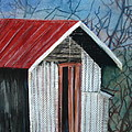 Old Shed by Shirley Shepherd