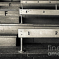 Old Stadium Bleachers by Diane Diederich