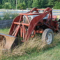Old Tractor by Jennifer Ancker