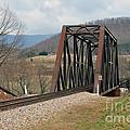 Old Train Trestle by Brenda Dorman