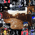 Old Tucson Arizona Composite Of Artists Performing There 1967-2012 by David Lee Guss