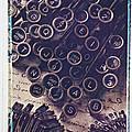 Old Typewriter Keys by Garry Gay
