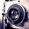 Old Vintage Press Camera  by Edward Fielding