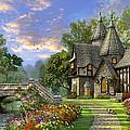 Old Waterway Cottage by Dominic Davison