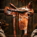 Old Western Saddle by Olivier Le Queinec
