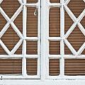 Old Window Frame by Tom Gowanlock