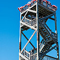 Old Wooden Watchtower Key West by Ian Monk