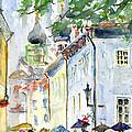 Oldtown Tallinn Estonian by John D Benson