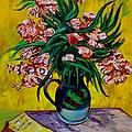 Oleanders by Karon Melillo DeVega
