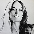 Olivia Wilde Print by Miguel Lopez