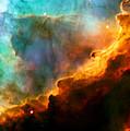 Omega Swan Nebula 3 Print by The  Vault - Jennifer Rondinelli Reilly