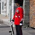 On Guard Quebec City by Edward Fielding