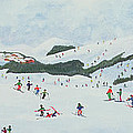 On The Slopes by Judy Joel