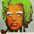 Oompa Loompa Self Portrait With Surreal Pipe