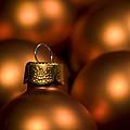 Orange Baubles by Anne Gilbert