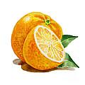 Orange by Irina Sztukowski