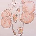Orange Organza by Christine Corretti