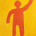 Orange Person by Igor Kislev