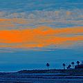 Orange Sunset by Ben and Raisa Gertsberg