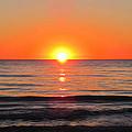 Orange Sunset  by Sharon Cummings