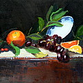 Oranges And Grapes by Gaye White