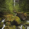Oregon's Watson Falls by Andrew Soundarajan
