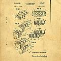 Original Us Patent For Lego by Edward Fielding