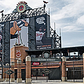 Oriole Park at Camden Yards Print by Susan Candelario