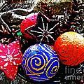 Ornaments 7 by Sarah Loft