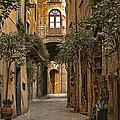 Orvieto Side Street by Lynn Andrews