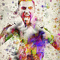 Oscar De La Hoya by Aged Pixel