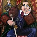 Oscar Wilde And The Picture Of Dorian Gray by Victoria De Almeida