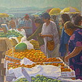 Otara Market. Auckland Nz. by Terry Perham