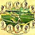 Our Baseball Heroes by Pg Reproductions