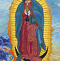 Our Lady of Guadalupe-New Dawn Print by Mark Robbins