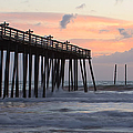 Outer Banks Sunrise by Adam Romanowicz