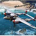 P-38 Lightning Battle Axe by Mark Karvon