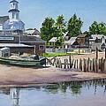 P' Town Boat Works by Karol Wyckoff