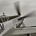 P51 Mustang Takeoff Ready by M K  Miller