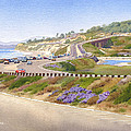 Pacific Coast Hwy Del Mar by Mary Helmreich