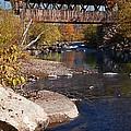 Packard Hill Bridge Lebanon New Hampshire by Edward Fielding