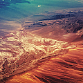 Painted Earth Print by Jenny Rainbow