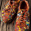Painted Tennis Shoes by Garry Gay