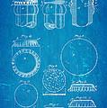 Painter Bottle Cap Patent Art 1892 Blueprint by Ian Monk